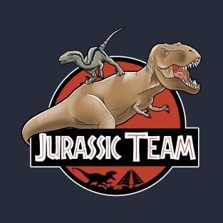 Jurassic team t-shirts