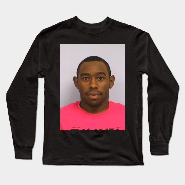 56a115b24869 Tyler s mugshot - Tyler The Creator - Long Sleeve T-Shirt