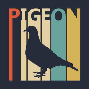 Vintage Retro Pigeon Gift T-Shirt