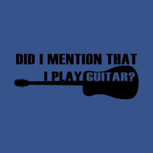 f53e411d3 Guitar Players T-Shirts | TeePublic