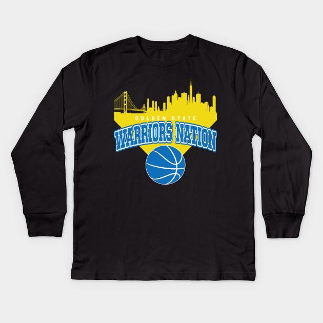 Golden State Warriors Basketball Long Sleeve Shirt