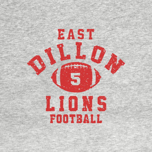East Dillon Lions Football Jersey Friday Night Lights
