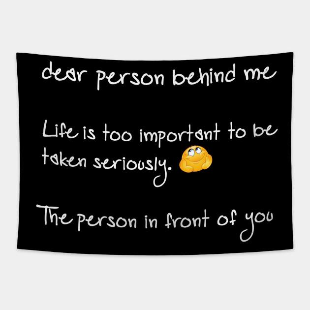 dear person