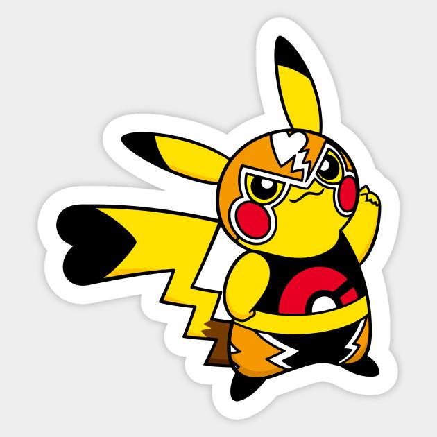 Stickers Pokemon.Pikachu Libre