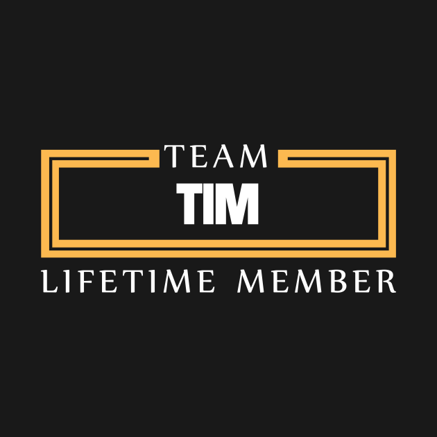 Team Tim Lifetime Member Surname