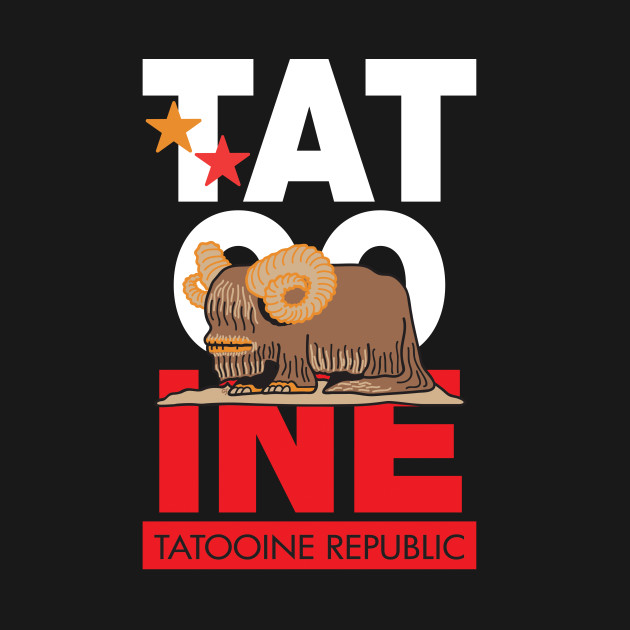 Tatooine Republic Souvenir Tee