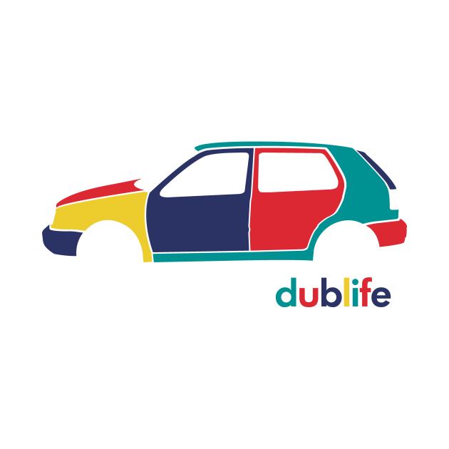 dublife - MK3 harlequin