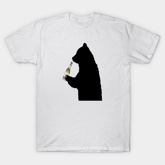 ab8a1b083d59 Natural Cheers - Bear - T-Shirt | TeePublic