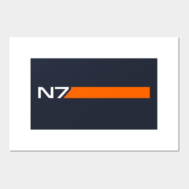 N7 - Mass Effect - Posters and Art Prints | TeePublic UK