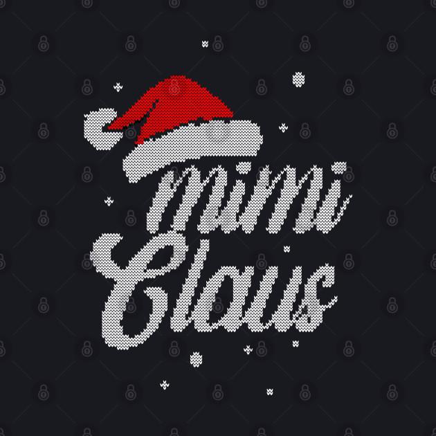 Christmas Santa Hat - Women Mimi Claus Gift For Mimi