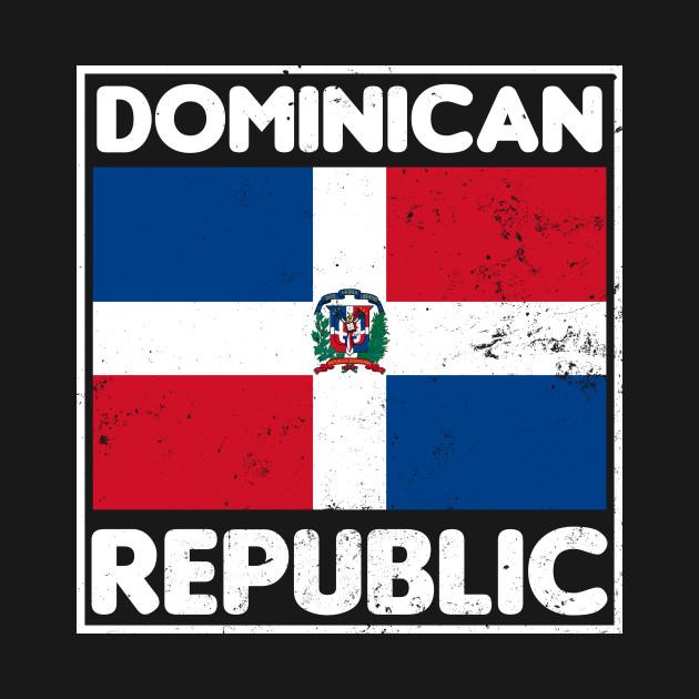 Dominican Republic Shirt | Patriotic Pride Flag Gift
