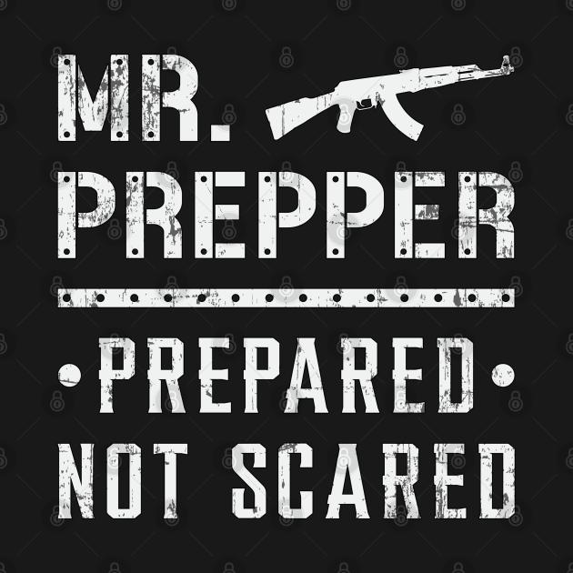 Prepper Doomsday Survival Prepping Virus Gift