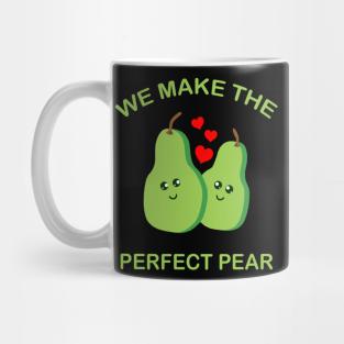 Cute Pear Mug I Love Pears Mug Pear Lover Mug Pear Coffee Mug Funny Pear Gift