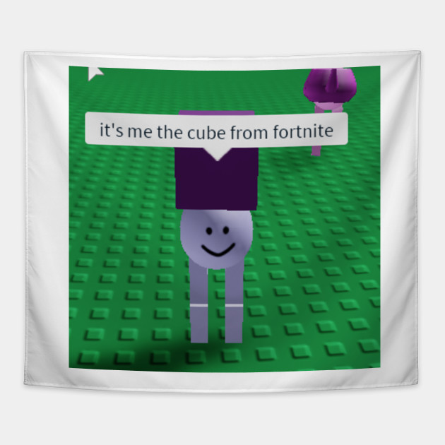 Funny Roblox Forknife Meme Tapisserie Teepublic Fr - when you meet your roblox girlfriend in real life ifunny
