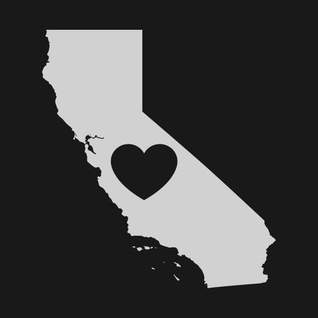 California Love Heart
