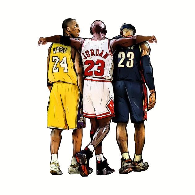 low priced cddbd bd1d6 Kobe Bryant x Michael Jordan x Lebron James