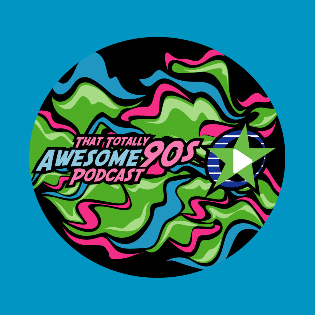 That Totally Awesome 90s Podcast LOGO T-shirt