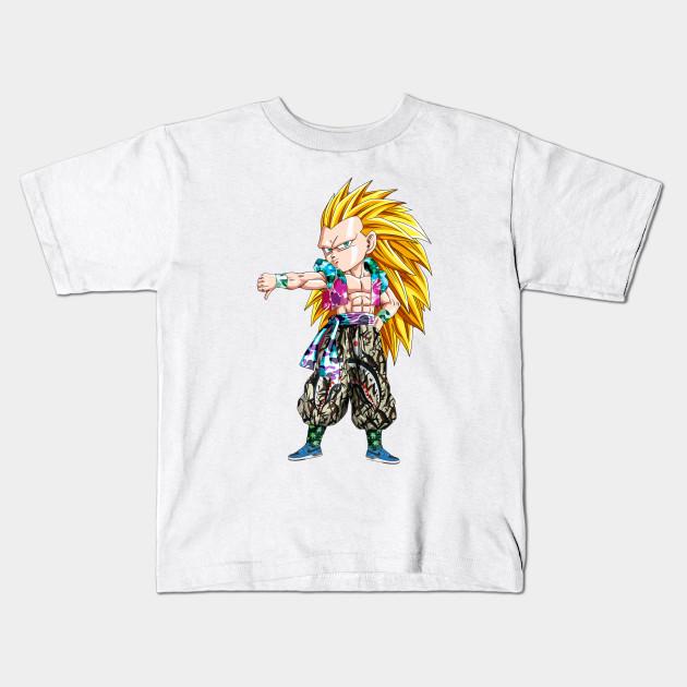 bd6bd995 Gotenks SSJ3 x Bape - Dragon Ball - Kids T-Shirt | TeePublic