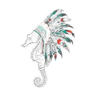 seahorse headdress
