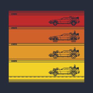 Retro Back To The Future t-shirts