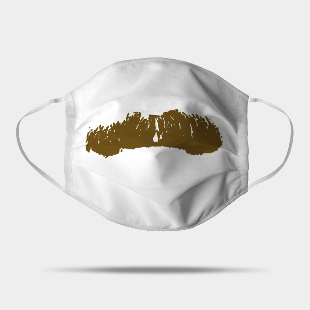 Ron 'Stache CoronaVirus mask