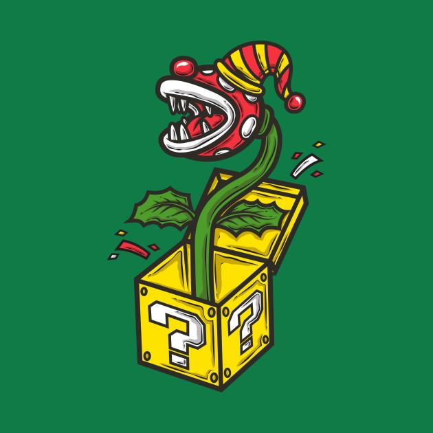 Killer Plant Clown in a Box