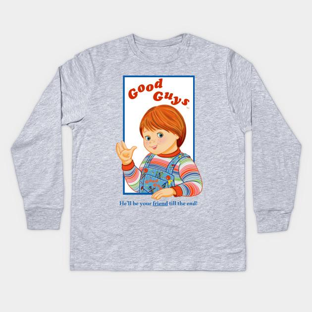 d5908757 Child's Play - Good Guys - Chucky - Chucky - Kids Long Sleeve T ...