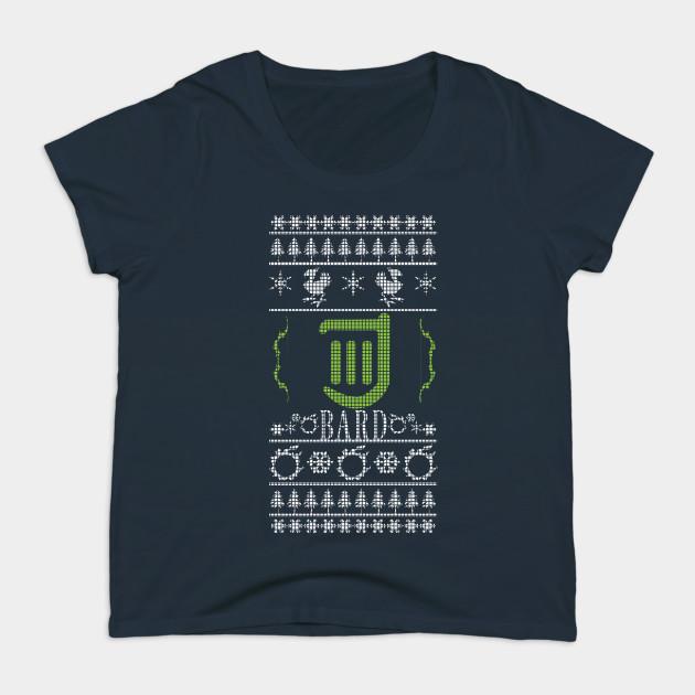 Final Fantasy XIV Bard Ugly Christmas Sweater T-Shirt - Fantasy ...