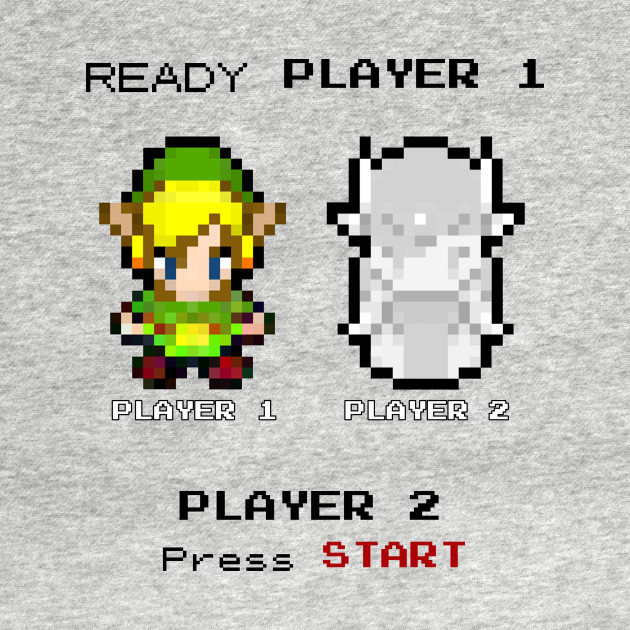 Player 2 press start