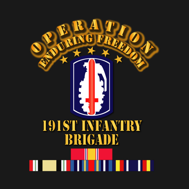 191st Infantry Brigade - Operation Endring Freedom