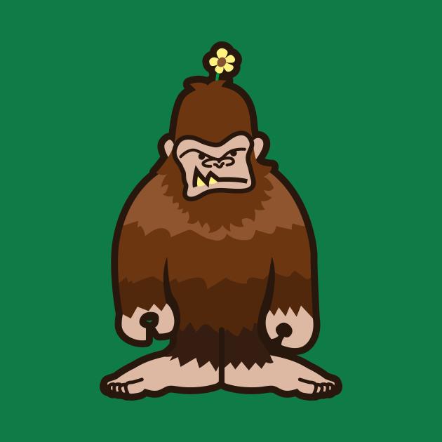 Annoyed Sasquatch