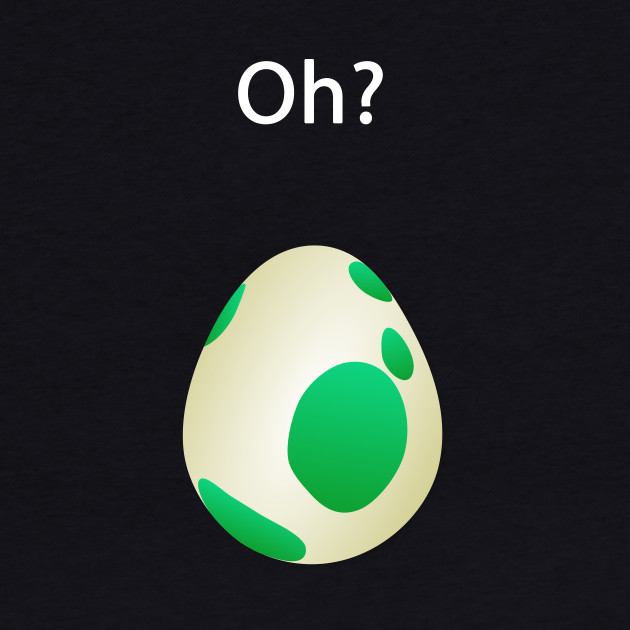 Pokemon GO - Egg [White Text]