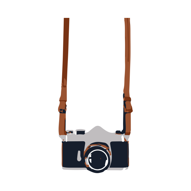 camera on strap