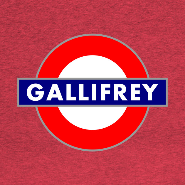 GALLIFREY STATION METRO SIGN