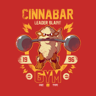 Cinnabar Gym t-shirts