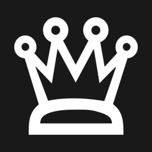 Crown Blackwhite Crown T Shirt Teepublic
