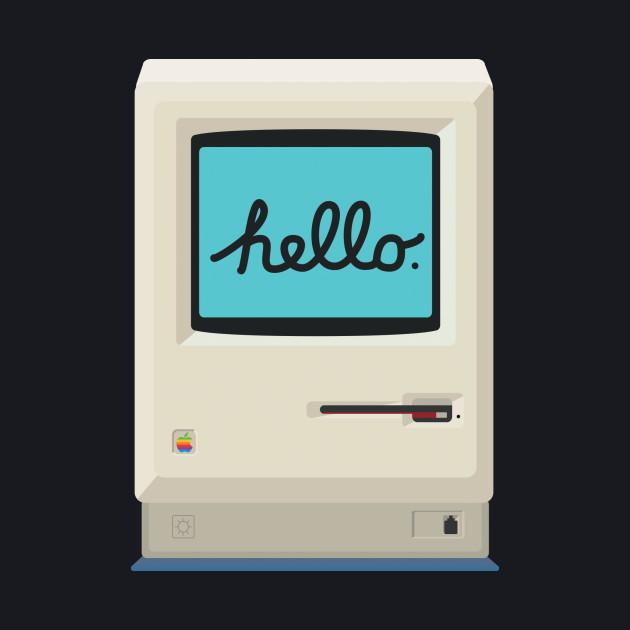 Flat 1984 Macintosh