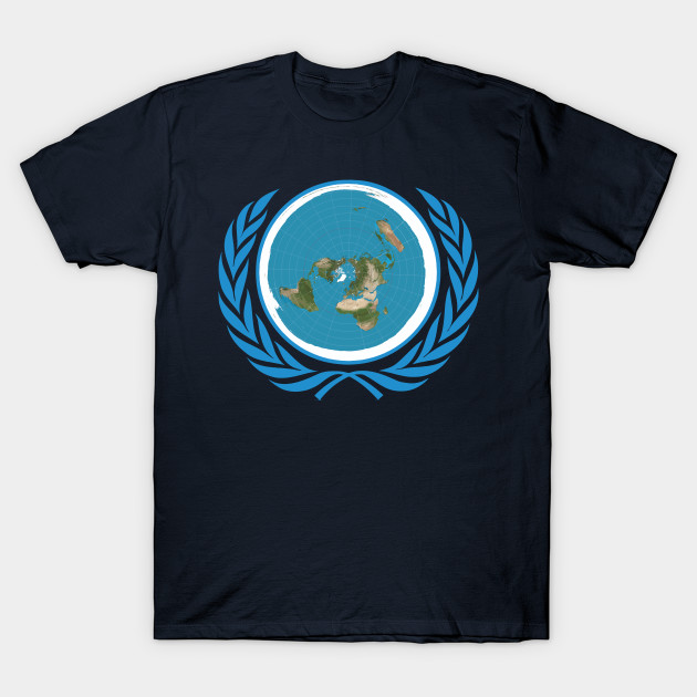 UNofficial UN Logo United Nations of Flat
