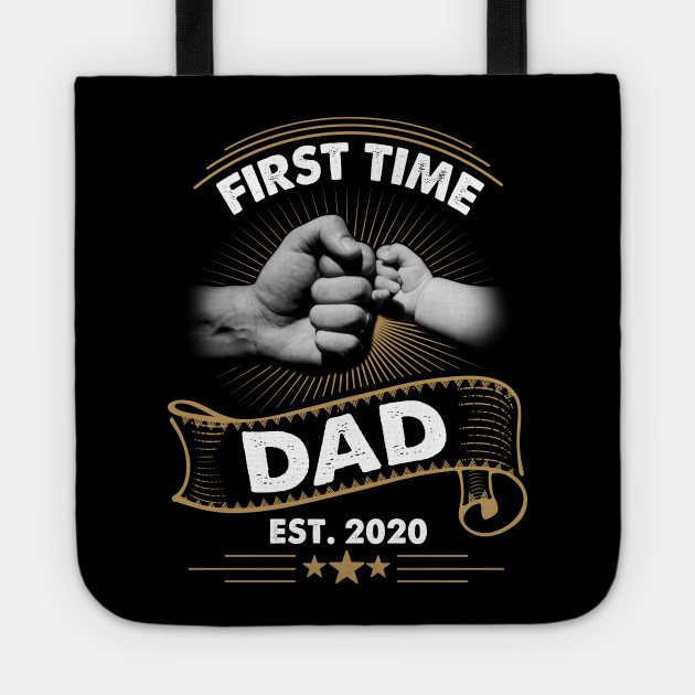Best Fathers Day Gifts 2020.First Time Dad Est 2020 Shirt Father S Day Gift For Dad