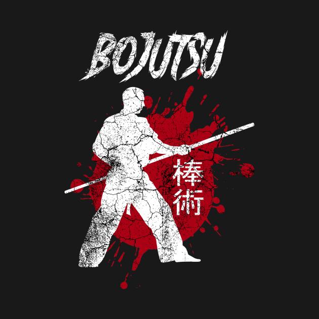 Bojutsu Martial Arts Bo Justu Staff Training Outfit