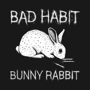 Bad Habit Bunny Rabbit t-shirts