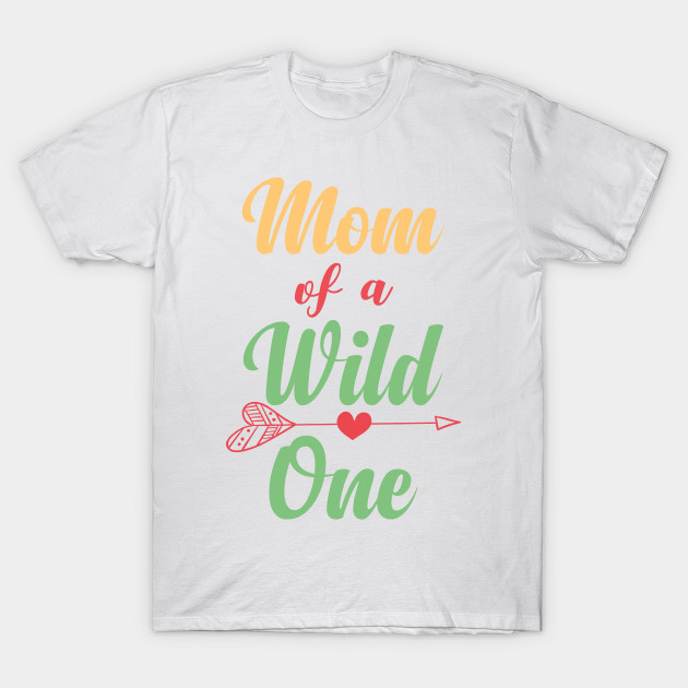 c02fcef1 Dad Mom Wild One Matching Family Boho Birthday Shirts - Pastel Boho ...