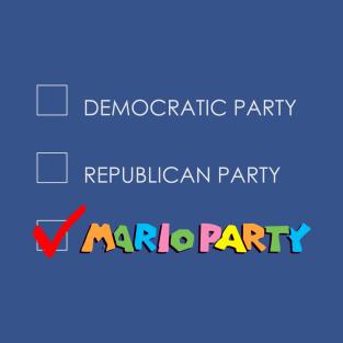 Vote Mario Party