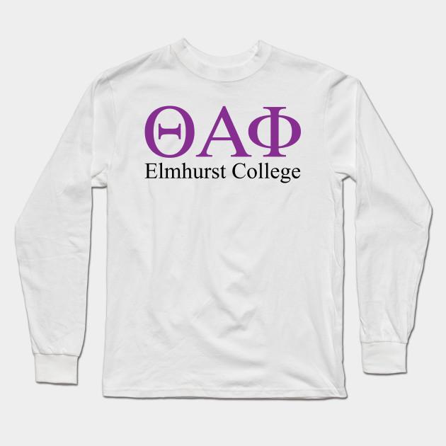 030ee77ff elmhurst college Theta Alpha Phi - Elmhurst College - Long Sleeve T ...