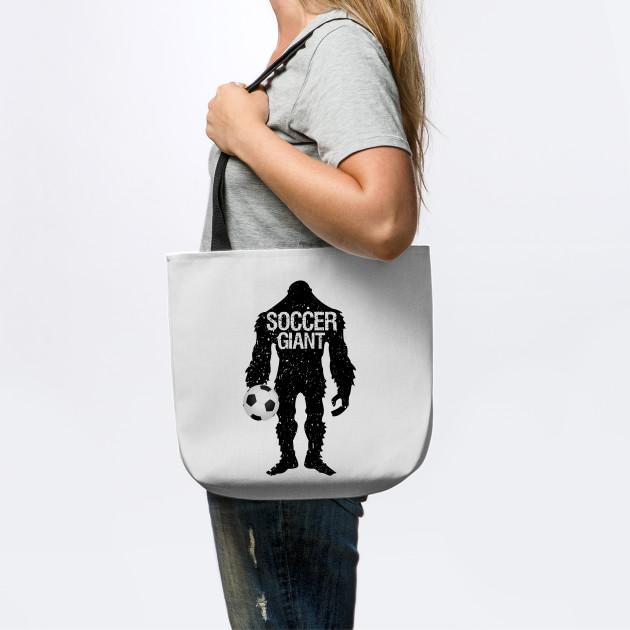 GIANT soccer tote bag