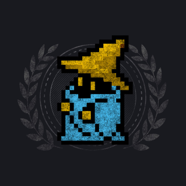 Black Mage - Sprite Badge
