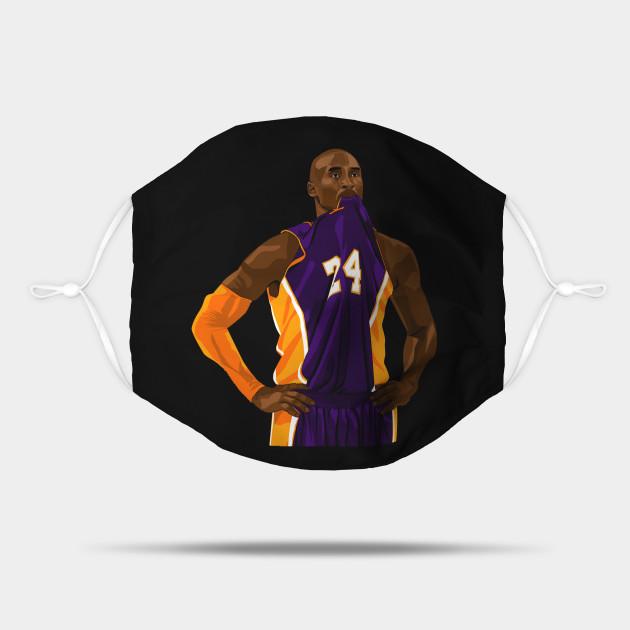 Mamba Jersey Chew - Kobe Bryant - Mask | TeePublic