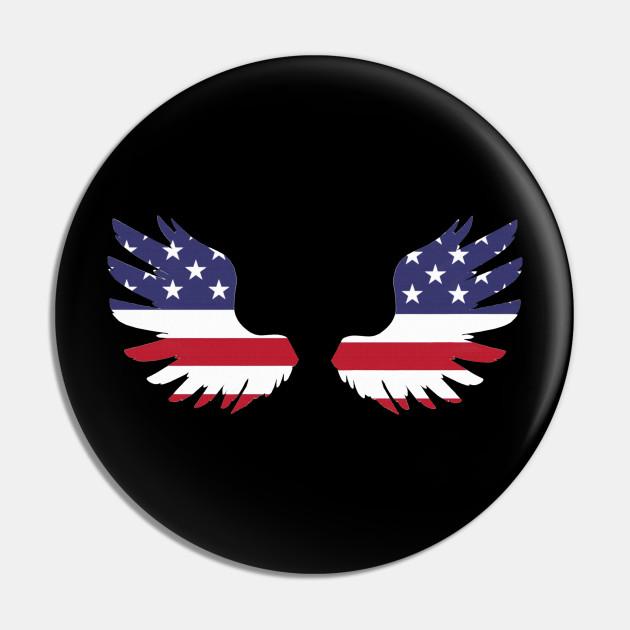 Kopie von My heart beats for the USA, America, flag