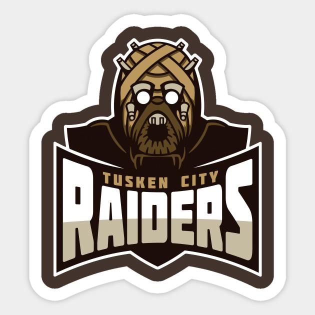 Tusken city raiders sticker tusken city raiders tusken city raiders 50133 0