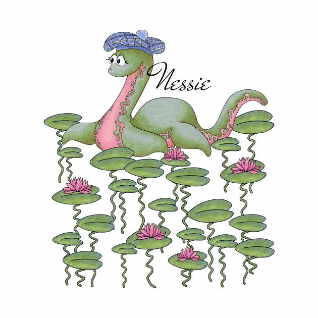 Cute Cryptid - Nessie